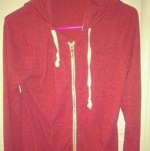 Seven brand Light weight zipup hoodie size Medium